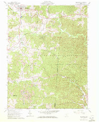 Download a high-resolution, GPS-compatible USGS topo map for Mc Arthur, OH (1972 edition)