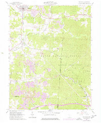 Download a high-resolution, GPS-compatible USGS topo map for Mc Arthur, OH (1961 edition)
