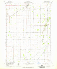 Download a high-resolution, GPS-compatible USGS topo map for Mc Clure, OH (1969 edition)