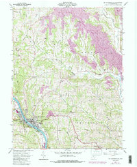 Download a high-resolution, GPS-compatible USGS topo map for Mc Connelsville, OH (1987 edition)