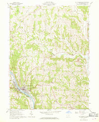 Download a high-resolution, GPS-compatible USGS topo map for Mc Connelsville, OH (1969 edition)