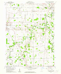 Download a high-resolution, GPS-compatible USGS topo map for Mc Cutchenville, OH (1962 edition)