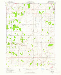 Download a high-resolution, GPS-compatible USGS topo map for Meeker, OH (1962 edition)