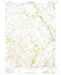 Download a high-resolution, GPS-compatible USGS topo map for Memphis, OH (1969 edition)