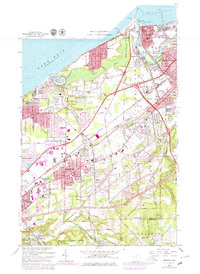 Download a high-resolution, GPS-compatible USGS topo map for Mentor, OH (1979 edition)