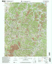 Download a high-resolution, GPS-compatible USGS topo map for Mercerville, OH (2006 edition)