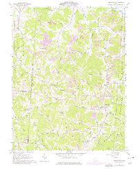 Download a high-resolution, GPS-compatible USGS topo map for Mercerville, OH (1977 edition)