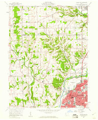 Download a high-resolution, GPS-compatible USGS topo map for Middletown, OH (1961 edition)