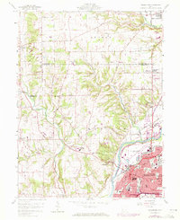 Download a high-resolution, GPS-compatible USGS topo map for Middletown, OH (1971 edition)