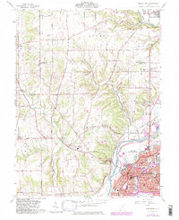 Download a high-resolution, GPS-compatible USGS topo map for Middletown, OH (1982 edition)
