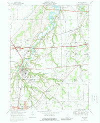 Download a high-resolution, GPS-compatible USGS topo map for Milan, OH (1989 edition)