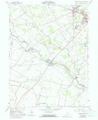 Download a high-resolution, GPS-compatible USGS topo map for Milford Center, OH (1990 edition)