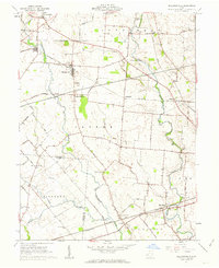 Download a high-resolution, GPS-compatible USGS topo map for Milledgeville, OH (1963 edition)