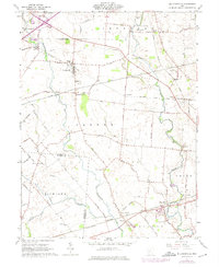 Download a high-resolution, GPS-compatible USGS topo map for Milledgeville, OH (1975 edition)