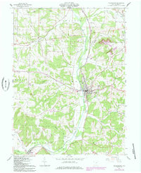 Download a high-resolution, GPS-compatible USGS topo map for Millersburg, OH (1985 edition)