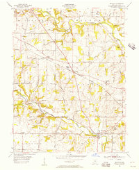 Download a high-resolution, GPS-compatible USGS topo map for Millville, OH (1956 edition)