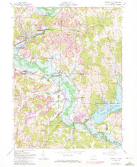 Download a high-resolution, GPS-compatible USGS topo map for Mineral City, OH (1972 edition)
