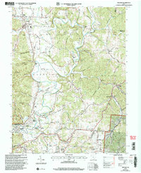Download a high-resolution, GPS-compatible USGS topo map for Minford, OH (2006 edition)