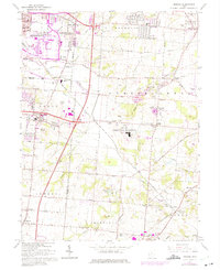 Download a high-resolution, GPS-compatible USGS topo map for Monroe, OH (1975 edition)