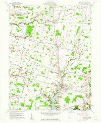 Download a high-resolution, GPS-compatible USGS topo map for Mount Orab, OH (1962 edition)