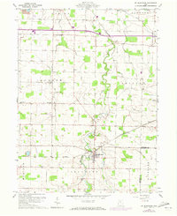 Download a high-resolution, GPS-compatible USGS topo map for Mt Blanchard, OH (1973 edition)