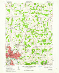 Download a high-resolution, GPS-compatible USGS topo map for Mt Vernon, OH (1962 edition)