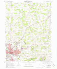 Download a high-resolution, GPS-compatible USGS topo map for Mt Vernon, OH (1975 edition)