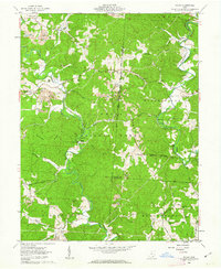Download a high-resolution, GPS-compatible USGS topo map for Mulga, OH (1963 edition)