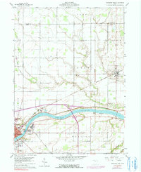 Download a high-resolution, GPS-compatible USGS topo map for Napoleon East, OH (1991 edition)