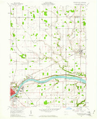 Download a high-resolution, GPS-compatible USGS topo map for Napoleon East, OH (1961 edition)