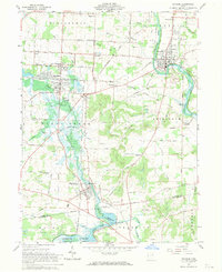 Download a high-resolution, GPS-compatible USGS topo map for Navarre, OH (1970 edition)
