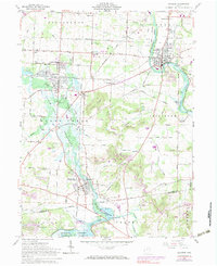 Download a high-resolution, GPS-compatible USGS topo map for Navarre, OH (1983 edition)