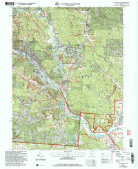 Download a high-resolution, GPS-compatible USGS topo map for Nelsonville, OH (2006 edition)