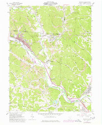 Download a high-resolution, GPS-compatible USGS topo map for Nelsonville, OH (1977 edition)