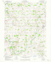 Download a high-resolution, GPS-compatible USGS topo map for Nevada, OH (1970 edition)