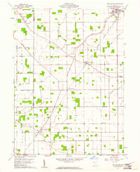 Download a high-resolution, GPS-compatible USGS topo map for New Bavaria, OH (1961 edition)