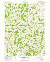 Download a high-resolution, GPS-compatible USGS topo map for New Bedford, OH (1963 edition)