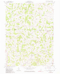 Download a high-resolution, GPS-compatible USGS topo map for New Bedford, OH (1980 edition)