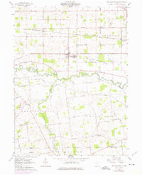Download a high-resolution, GPS-compatible USGS topo map for New Bloomington, OH (1975 edition)