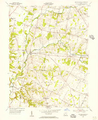 Download a high-resolution, GPS-compatible USGS topo map for New Burlington, OH (1956 edition)