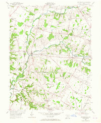 Download a high-resolution, GPS-compatible USGS topo map for New Burlington, OH (1967 edition)