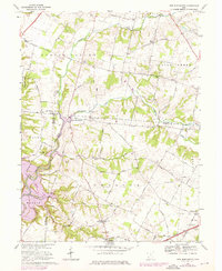 Download a high-resolution, GPS-compatible USGS topo map for New Burlington, OH (1976 edition)