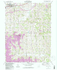 Download a high-resolution, GPS-compatible USGS topo map for New Concord, OH (1998 edition)