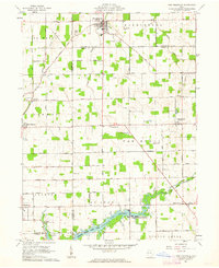 Download a high-resolution, GPS-compatible USGS topo map for New Knoxville, OH (1962 edition)