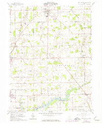 Download a high-resolution, GPS-compatible USGS topo map for New Knoxville, OH (1974 edition)