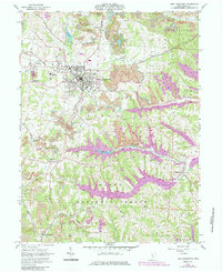 Download a high-resolution, GPS-compatible USGS topo map for New Lexington, OH (1985 edition)