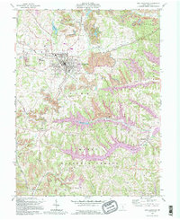 Download a high-resolution, GPS-compatible USGS topo map for New Lexington, OH (1995 edition)