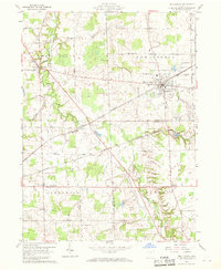 Download a high-resolution, GPS-compatible USGS topo map for New London, OH (1969 edition)