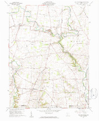 Download a high-resolution, GPS-compatible USGS topo map for New Martinsburg, OH (1962 edition)