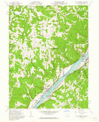 Download a high-resolution, GPS-compatible USGS topo map for New Matamoras, OH (1962 edition)